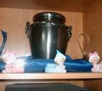 L'urne de ma stéphanie chérie. Je t'aime !!