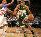 Ses premiers pas en NBA