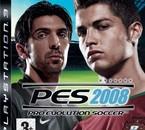couverture du jeu pes 2008
