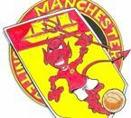 le logo de manchester united