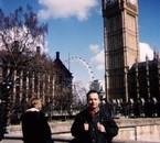 """Moi et le big ben derriere """"Londres"""""""
