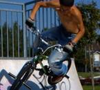 BMX en rampe