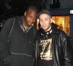 Moi et Moussa à Chatelet