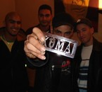 Moi, Ahmed, Morad et Koma (Scred connexion) chez Koma!...lol