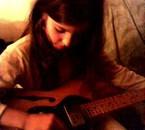 Moi et ma guitard !