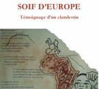 "Photo de la couvertue du livre ""Soif d'Europe"""
