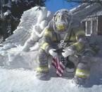 hommage au pompiers americain
