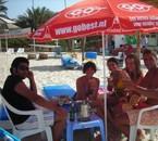 Tunisie Champagne à la Playaaaa.....
