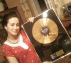Avec le Disque d'Or de Authentik