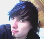 En noir avec des reflets bleus !