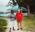 coco et son épouse à l'ile maurice