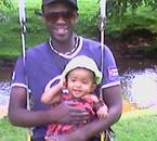 ma fille et moi en vacance