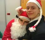 la Mère et le père Noel