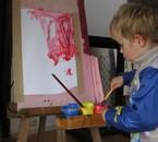 Thibaut, artiste à 3 ans
