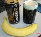 une guinness + banane = :)