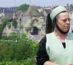 Dame Hermeline de la tour de Marne