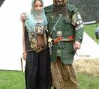 Jasmine Simonoglu et son père Ali le Lion d'Anatolie