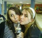 moi et jenny buvant un coca zero ♥