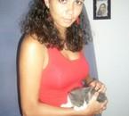 ma chourie et notre chat