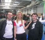 Mon Pote, l Hotesse et Moi (de droite à gauche)