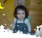 ma princess...ma mini-buckbuck!!!le portrait de papa!!