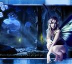 la fée bleue des chateaux.