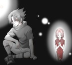 Sasuke pense à Sakura, trop kawaï >w<