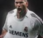 Zidane est le real madrid