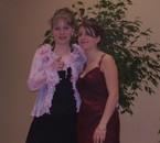 Marie-Sarah et moi lors des Miss Muguet