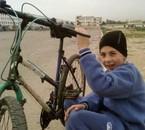 moi avec ma bicyclette