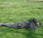 En habit de camouflage...