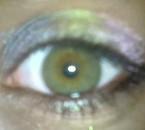 Les yeux vert? La preuve en image....