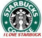I 'L0VE STARBUCKS COFFEE <3