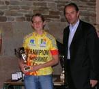 championne de normandie de vtt junior 2007