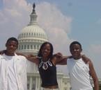 moi, ma cousine et mon frere quand ma cousine etait aus USA