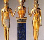 Osiris (Usir), Horus (Hor) , Isis (Aset) La version original