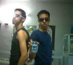 me & yacine