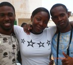 my pot ivorian and leslie of congo plus me