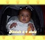 késiah à 4 mois