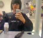 avant le coiffeur (pas rassure mais aime bien ma tete)
