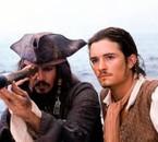 Jack Sparrow et Will Turner