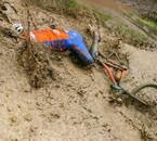 chute de vélo