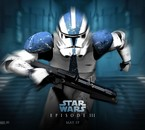 un clones troopers dans l'épisode 3
