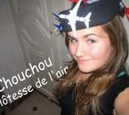 Chouchou  Hôtesse de l'air
