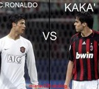 c.ronaldo vs kaka qu'est ce que tu aime