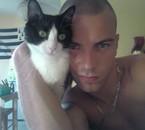 mon loulou et notre chat