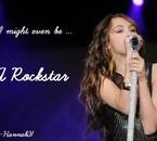I mifgt even be a rockstar ...