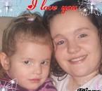 Moi et ma fille mon petit demon