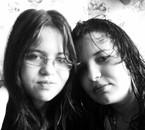 Cindy et ma soeur Coralie