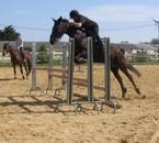 Moa a cheval !!!